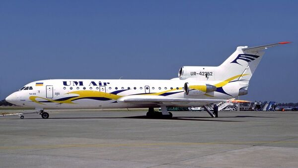 El avión Yak 42 siniestrado en 2003 - Sputnik Mundo