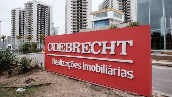 Logo de Odebrecht - Sputnik Mundo