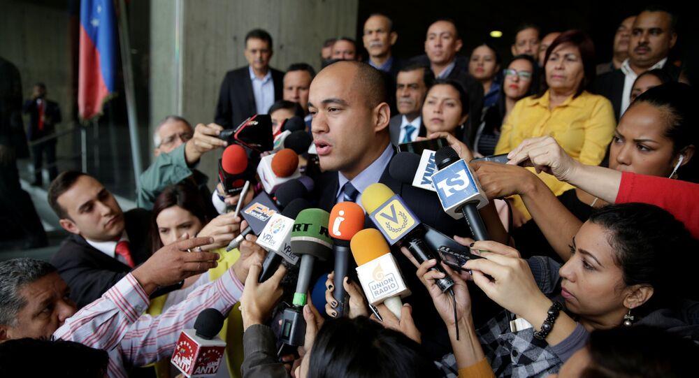 Héctor Rodríguez, gobernador del estado Miranda