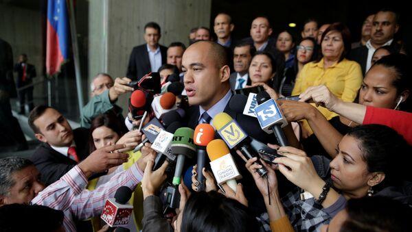 Héctor Rodríguez, el candidato a la gobernación del estado de Miranda por el PSUV - Sputnik Mundo