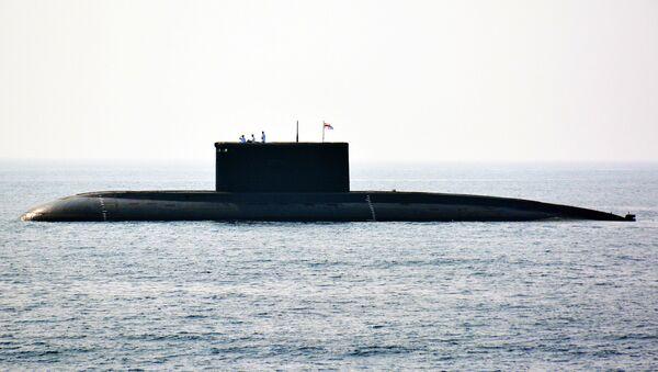 Un submarino de la India - Sputnik Mundo