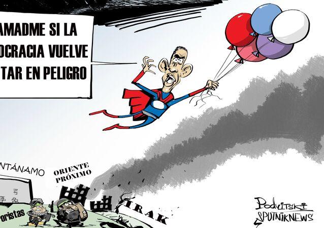 Las sombras del mandato de Obama: exportar la democracia a bombazos
