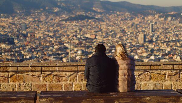 Turistas en España - Sputnik Mundo