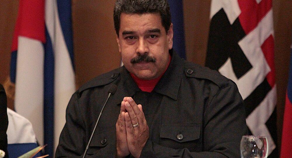 Venezuela's President Nicolas Maduro (archivo)
