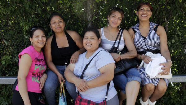 Migrantes mexicanas en EEUU (archivo) - Sputnik Mundo