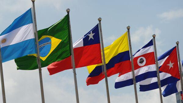 Banderas de los países de América Latina - Sputnik Mundo