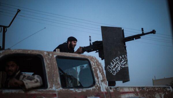 Combatientes del grupo Ahrar al Sham (archivo) - Sputnik Mundo
