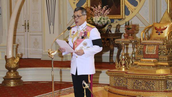 Maha Vajiralongkorn, rey de Tailandia - Sputnik Mundo