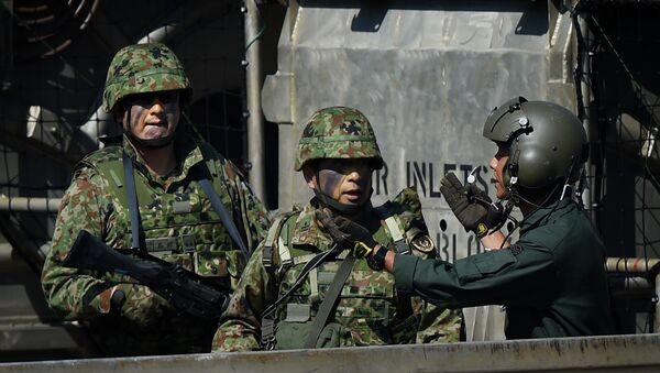 Militares japoneses (archivo) - Sputnik Mundo