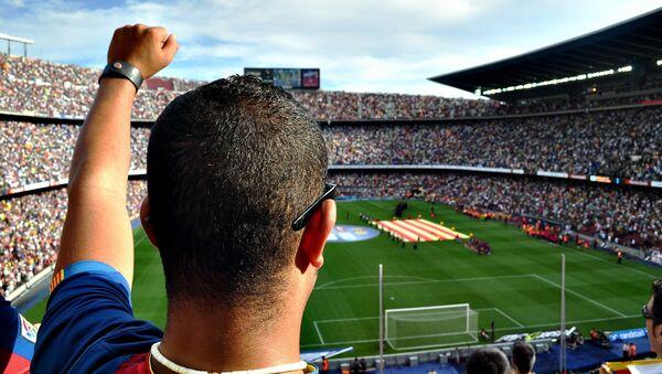 Aficionado de fútbol - Sputnik Mundo