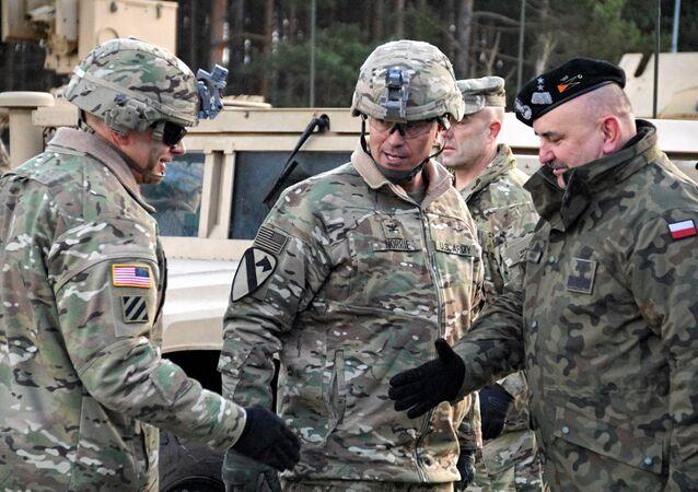Militares de la OTAN en Polonia (archivo)