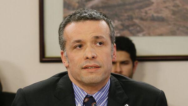 Oscar Landerretche, presidente del directorio de la estatal chilena Codelco - Sputnik Mundo