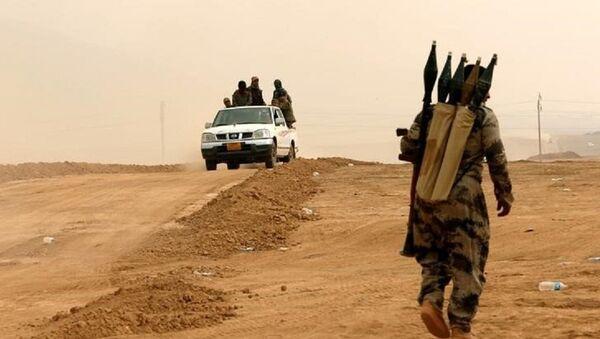 Los kurdos peshmerga en la operación para liberar Mosul - Sputnik Mundo