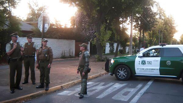 Policía de Chile (archivo) - Sputnik Mundo