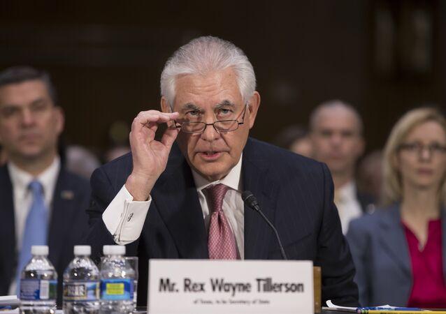 Rex Tillerson, secretario de Estado de EEUU (archivo)