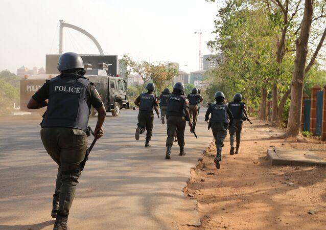 Policía de Nigeria (archivo)