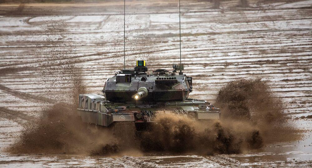 El tanque alemán Leopard 2 (archivo)