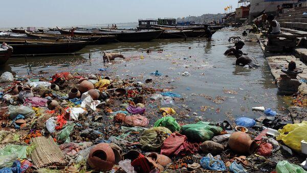 Río Ganges - Sputnik Mundo