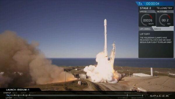 EN VIVO: SpaceX lanza su cohete Falcon 9 - Sputnik Mundo