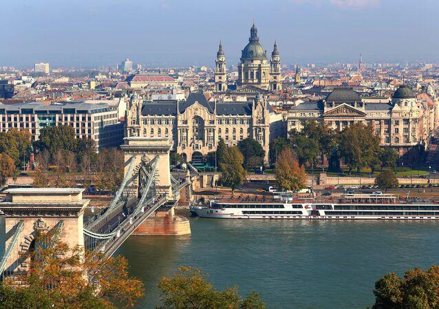 Budapest, capitál de Hungría