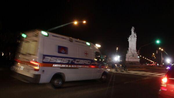 Ambulancia en Argentina (archivo) - Sputnik Mundo