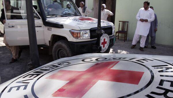 Cruz Roja en Afganistán - Sputnik Mundo