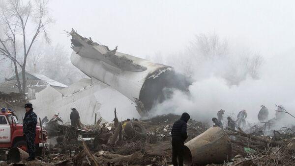 El lugar de la caída del avión Boeing 747 de Turkish Airlines - Sputnik Mundo