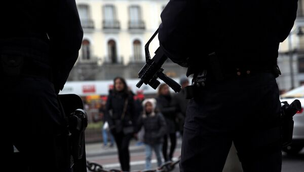 Policía española (archivo) - Sputnik Mundo