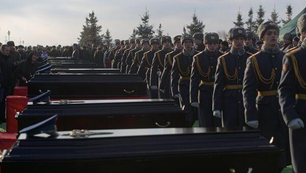 Rusia se despide de las víctimas del siniestro del Tu-154 en Sochi - Sputnik Mundo