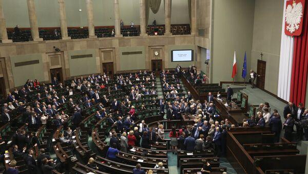 El parlamento de Polonia (archivo) - Sputnik Mundo