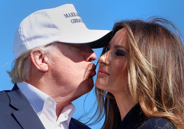 Melania y Donald Trump (archivo)