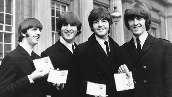 El magnífico cuarteto de Liverpool - Sputnik Mundo