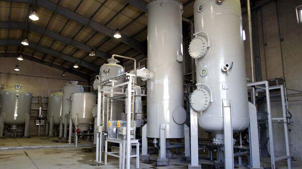 Reactor de agua pesada en Arak, Irán (archivo) - Sputnik Mundo