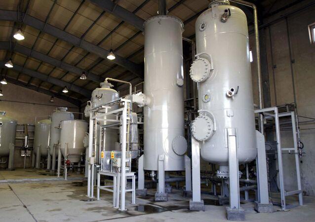 Reactor de agua pesada en Arak, Irán (archivo)