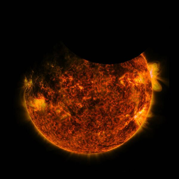 Un vistazo desde el cosmos: fenómenos espaciales indescriptibles - Sputnik Mundo