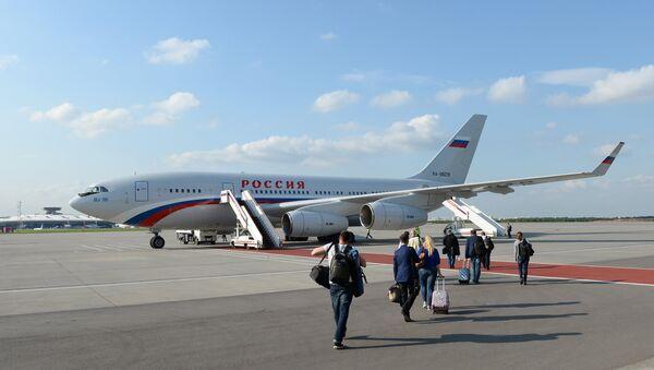 Il-96-300 aircraft - Sputnik Mundo