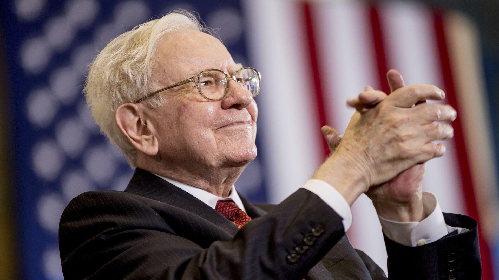 Berkshire Hathaway Chairman and CEO Warren Buffett - Sputnik Mundo, 1920, 19.02.2021