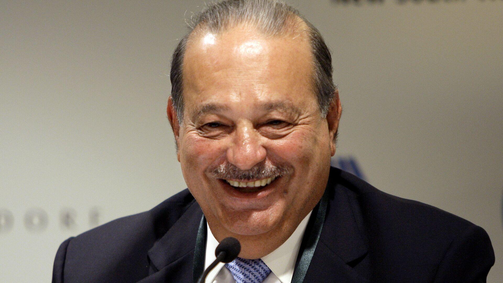 Carlos Slim, magnate mexicano - Sputnik Mundo, 1920, 06.04.2021