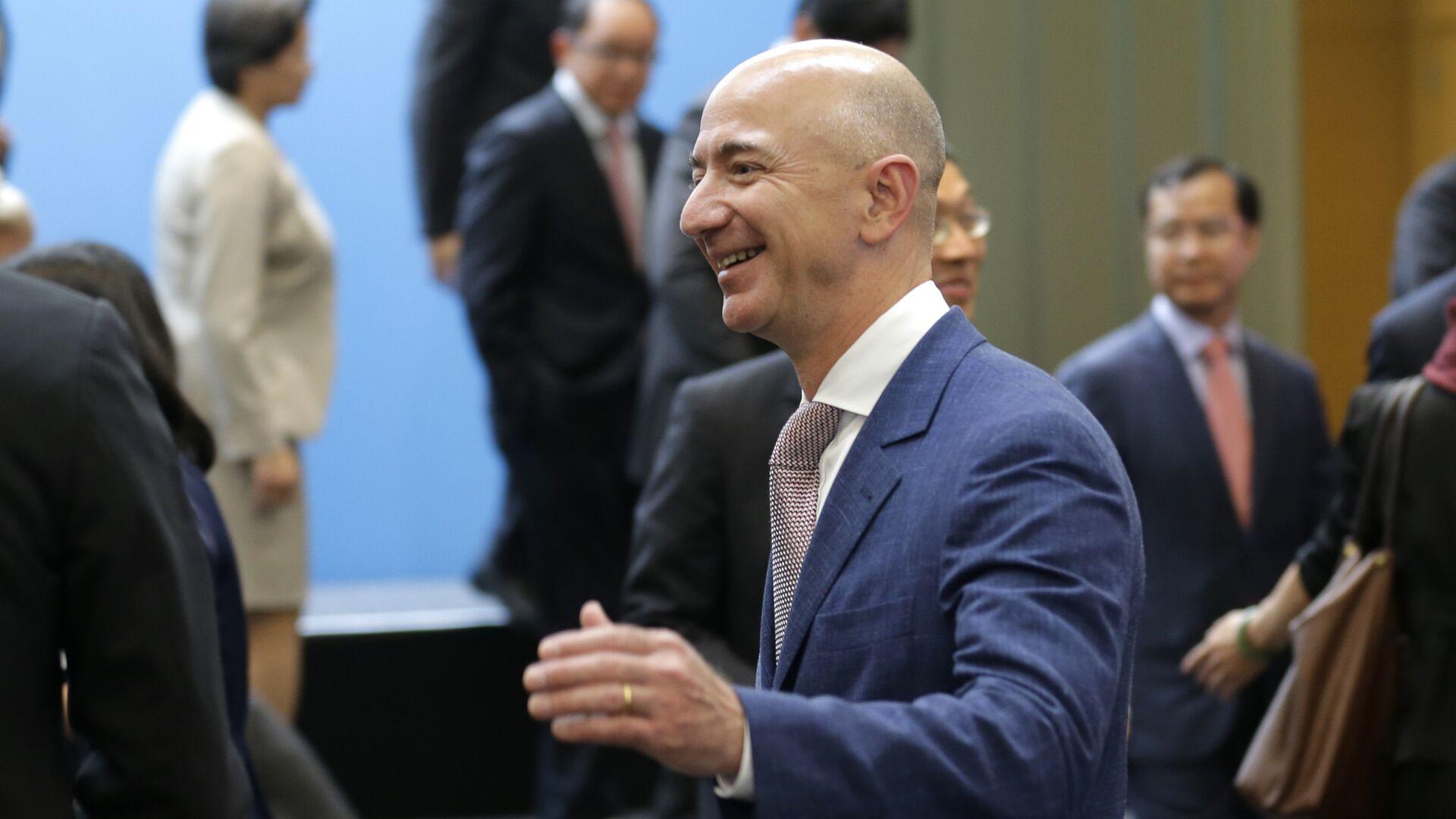 Amazon.com CEO Jeff Bezos - Sputnik Mundo, 1920, 14.06.2021