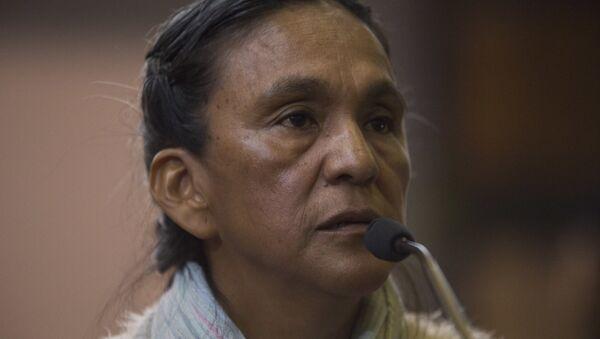 Milagro Sala, activista social argentina (archivo) - Sputnik Mundo