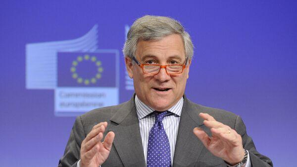 Antonio Tajani, el presidente del Parlamento Europeo (archivo) - Sputnik Mundo