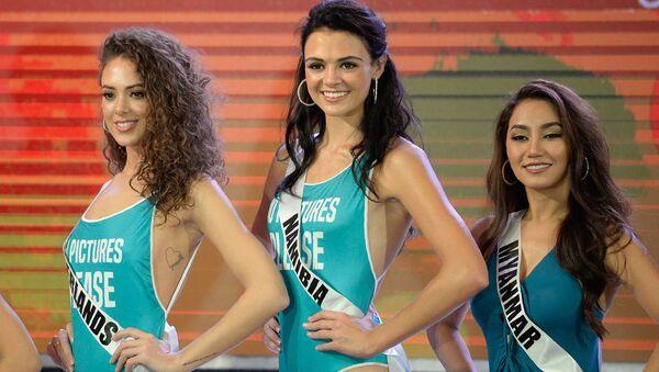 La belleza al descubierto: así fue el desfile en traje de baño del concurso Miss Universo - Sputnik Mundo