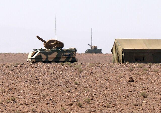 La infantería de Marruecos