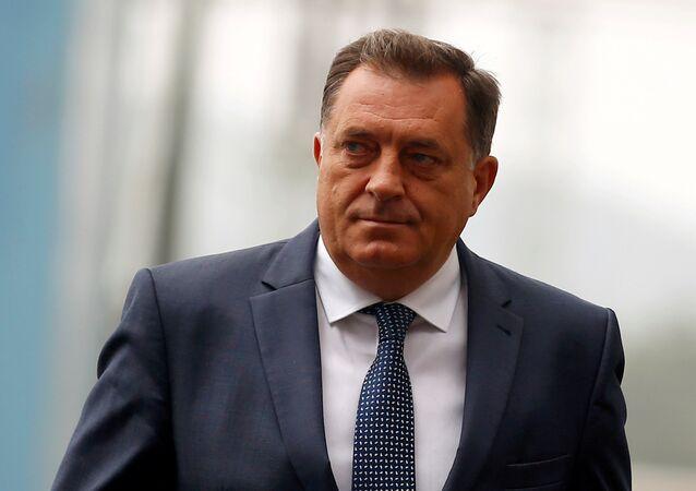 Milorad Dodik, miembro serbio de la Presidencia de Bosnia y Herzegovina