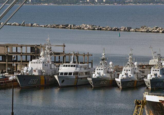Un puerto de la ciudad de Odesa