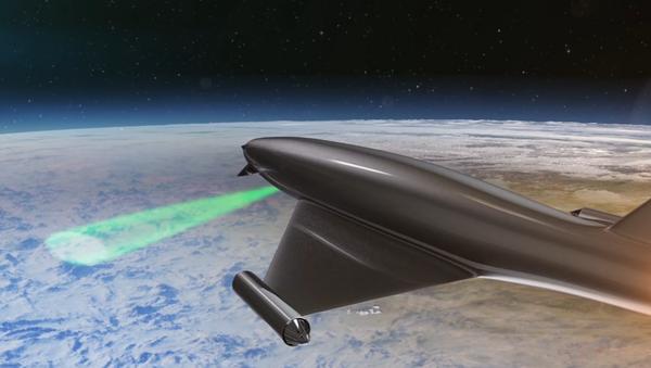 El sistema Lente láser atmosférica - Sputnik Mundo
