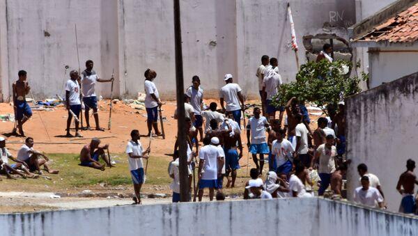 La prisión en Natal, Brasil - Sputnik Mundo