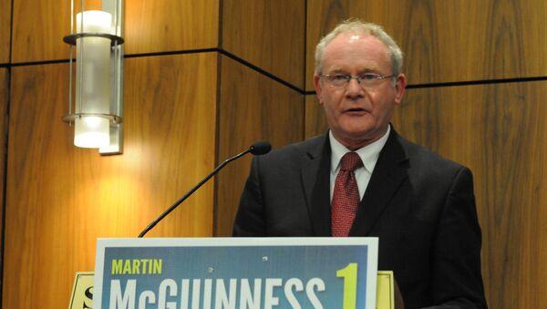 Martin McGuinness - Sputnik Mundo