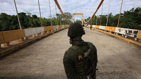 Frontera entre Colombia e Ecuador - Sputnik Mundo