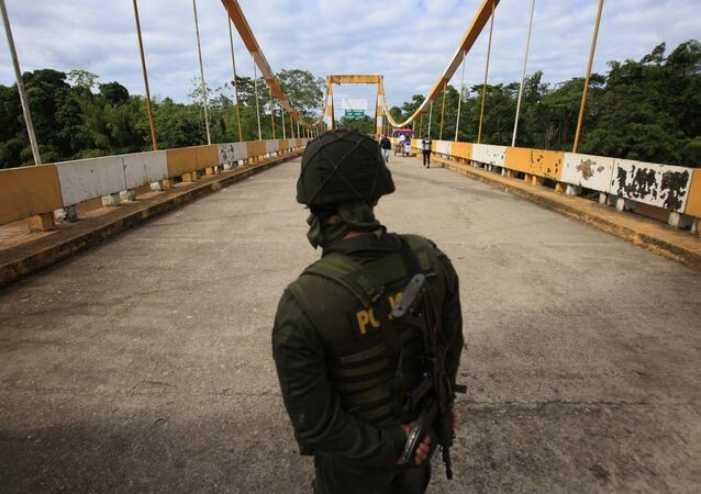 Frontera entre Colombia e Ecuador